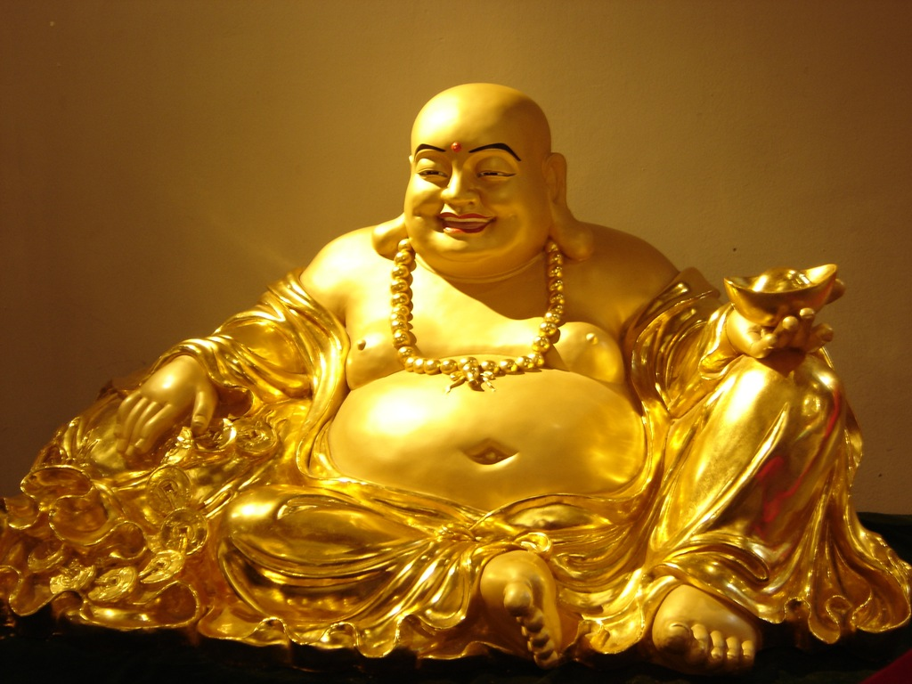 6 different types of buddha statues and their meanings big chi theory laughing buddha luck and prosperity biocorpaavc Choice Image