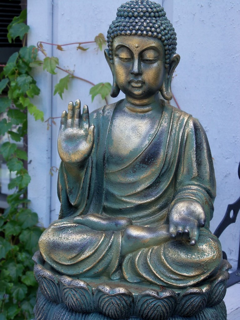 6 different types of buddha statues and their meanings big chi theory protection buddha protection from fear anger and delusion biocorpaavc Choice Image