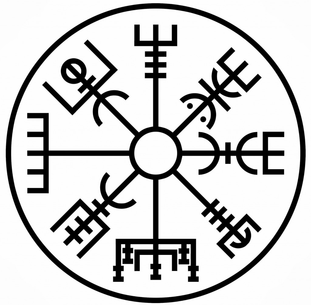 10 viking symbols based on norse mythology big chi theory the vegvisir symbol of protection during journeys biocorpaavc Images