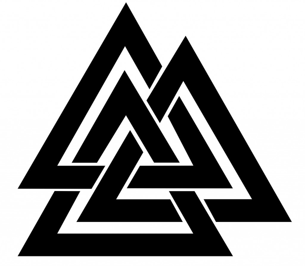 10 traditional viking tattoos and their meanings big chi theory valknut tattoos buycottarizona Choice Image