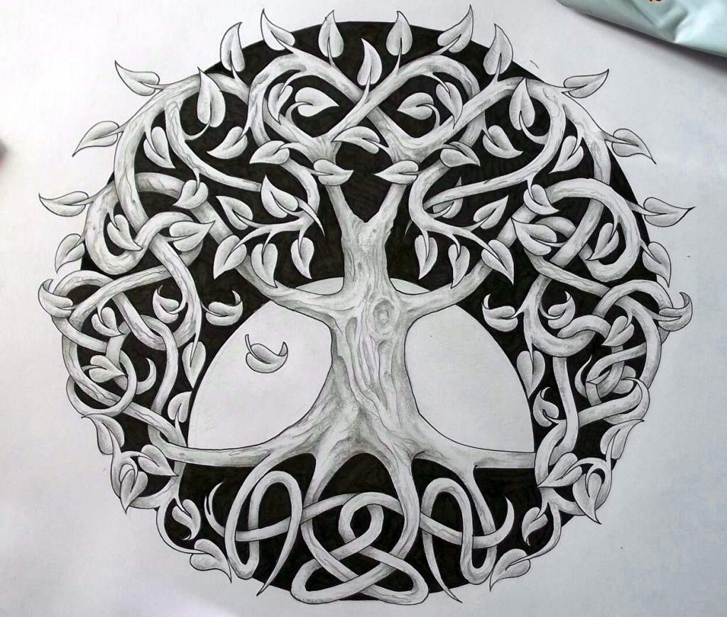 celtic tree of life meaning history symbols big chi theory. Black Bedroom Furniture Sets. Home Design Ideas